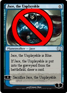 Jace Magic Card