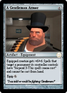Team Fortress 2 Heavy Magic Card