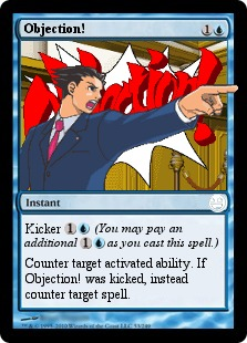 Objection Magic Card