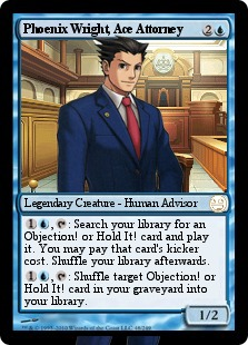 Phoenix Wright Magic Card