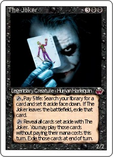 The Joker Magic Card